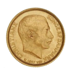 Золотые монеты Дании