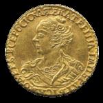 Золотые монеты Екатерины 1