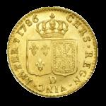 Золотые монеты Франции