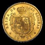 Золотые монеты Испании