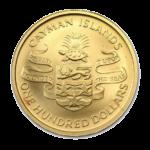 Золотые монеты Каймановых островов