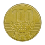 Золотые монеты Коста-Рики
