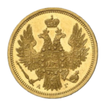 Золотые монеты Николая 1