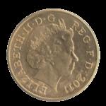 Обиходные монеты Англии