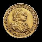 Золотые монеты Петра 1