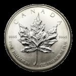 Серебряные монеты Канады