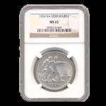 Серебряные монеты СССР в слабах
