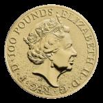 Золотые монеты Великобритании