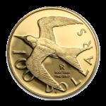 Золотые монеты Виргинских островов
