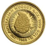 Золотая монета 15 долларов 1988 год. Австралия. Самородки