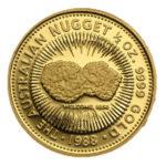 Золотая монета 50 долларов 1988 год. Австралия. Самородки