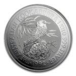 Серебряная монета 30 долларов 1992 год. Австралия. Кукабарра