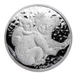 Серебряная монета 30 долларов 2008 год. Австралия. Коала