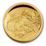 Золотая монета 100 долларов 2012 год. Австралия. Коала