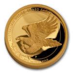 Золотая монета 100 долларов 2014 год. Австралия. Клиновидный орел