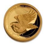 Золотая монета 100 долларов 2015 год. Австралия. Клиновидный орел