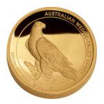 Золотая монета 200 долларов 2016 год. Австралия. Клиновидный орел