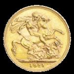Золотые монеты Австралии регулярного чекана 1852 - 1952 годов