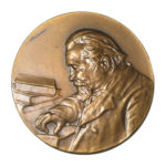 Памятная настольная медаль 40 лет со дня избрания А.П.Карпинского академиком Российской академии наук