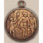 Памятный жетон (знак) в честь годовщины Октября. 1917 г.
