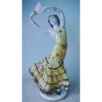 Статуэтка ЛФЗИ Балерина с веером