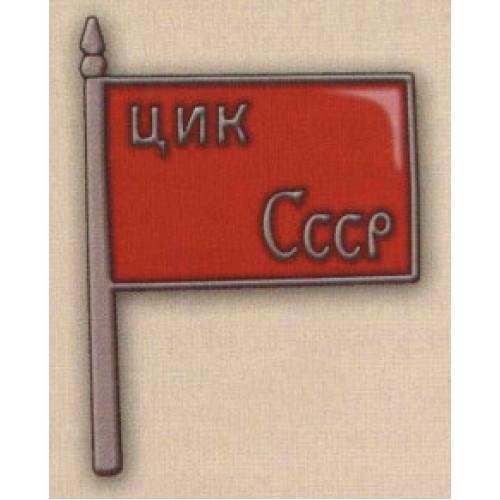 Нагрудный знак «Член ЦИК СССР». 20-е — 30-е гг. Тип 1