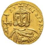 Золотой солид Византии, Никифор I Геник, 802-811 год