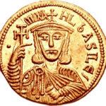 Золотой солид Византии, Михаил I Рангаве Игнатий, 811-813 год