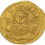 Золотой солид Византии, Михаил III (Пьяница), 842-867 год