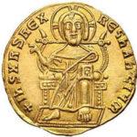 Золотой солид Византии, Александр, 912-913 год