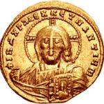 Золотой солид Византии, Константин VII и Роман I, 913-959 год