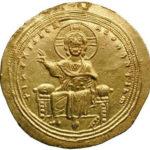 Золотой гистаменон Византии, Михаил V Калафат, 1041-1042 год