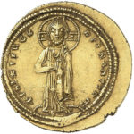 Золотой гистаменон Византии, Императрица Феодора, 1055-1056 год