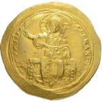 Золотой гистаменон Византии, Исаак I Комнин, 1057-1059 год