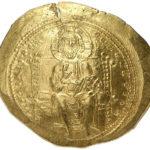 Золотой гистаменон Византии, Императрица Евдокия, 1067 год