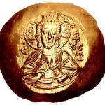 Золотой иперпир Византии, Феодор I Ласкарис, 1208-1222 год