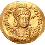 Золотой солид Византии, Флавий Анастасий I, 491-518 год