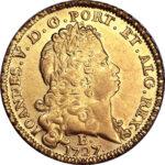 Золотая монета 6400 рейсов (6400 Réis) Бразилия
