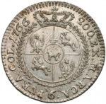 Серебряная монета Шестак (6 грошей) Средневековой Польши