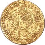 Золотая монета 1 Noble (нобль) Великобритания