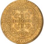 Золотая монета ½ Noble (1/2 нобля) Великобритания