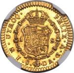 Золотая монета 1 Эскудо (1 Escudo) Чили