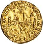 Золотая монета 1 Penny (1 пенни) Великобритания