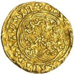 Золотая монета ¼ Ryal (1/4 райола) Великобритания