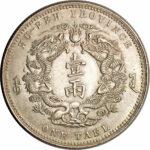 Серебряная монета 1 Таэль (1 Tael) Китай