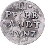 Серебряная монета 2 Пфеннига (2 Pfennig) Германия