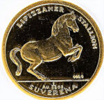 Золотая монета 1/25 Суверена (1/25 Suverena) Босния и Герцеговина