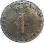 Серебряная монета 4 Пенса (4 Pence) Великобритания
