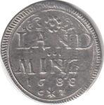 Серебряная монета 10 Пфеннигов (10 Pfennig) Германия