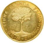 Золотая монета 8 Эскудо (8 Escudos) ЦАР